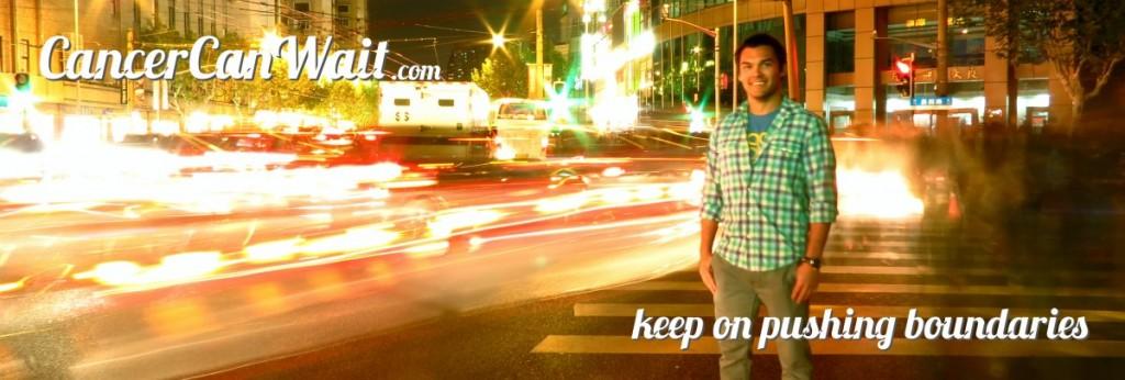 keep on pushing boundaries
