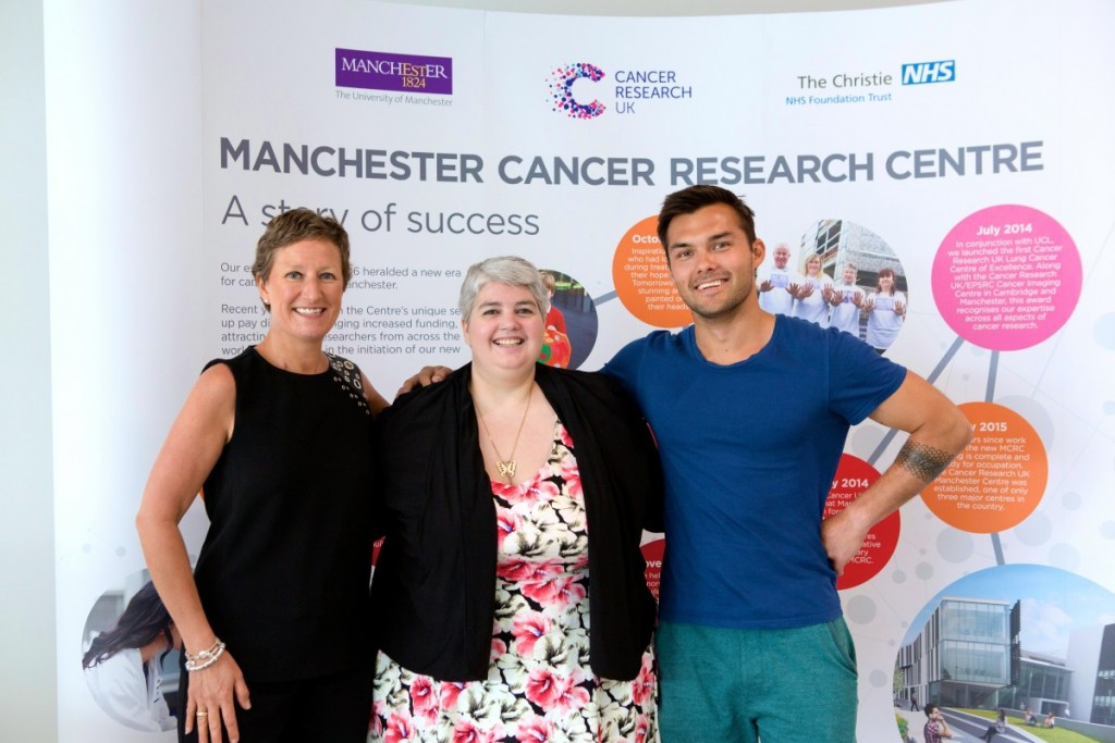 Blogging about cancer Jo Taylor Clare Callaghan and Matt Dillon